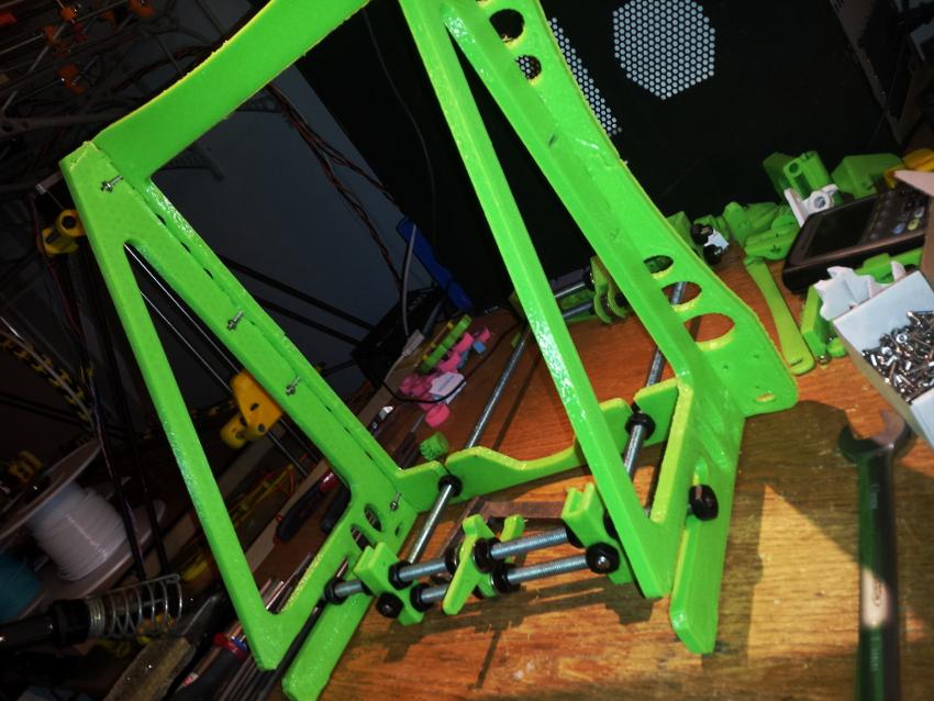 assembled printed frames